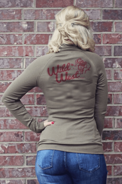 Wild West Jacket Army Green