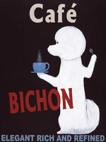 Caf� Bichon - The Original Painting