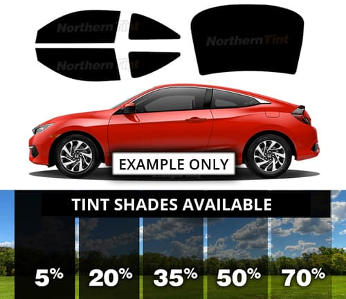20/% Rtint Window Tint Kit for Chevrolet Camaro 2010-2015 - Complete Kit Coupe