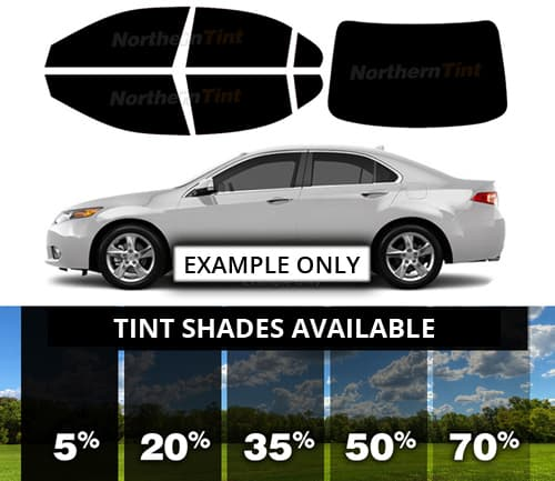 PreCut Film Front Two Door Windows Any Tint Shade /% for Chrysler 300 Glass
