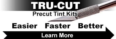 Standard Cut vs Tru-Cut Precut Tint Kits