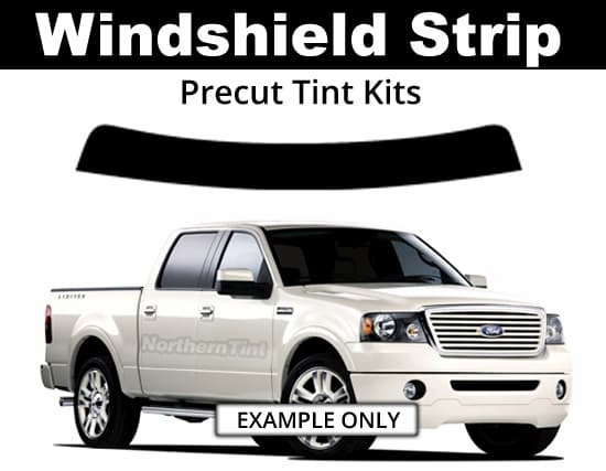 Sun Strip Precut Tint Kits