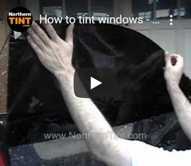 Tinting Side Roll-up Windows