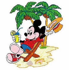200 MICKEY & FRIENDS EMBROIDERY DESIGNS