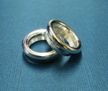 Jon Ring 18mm Brass/Silver