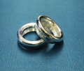 Jon Ring 17.5mm Brass/Silver
