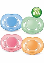 Avent Freeflow Toddler Pacifier, 6-18 Mos, 2 Pack