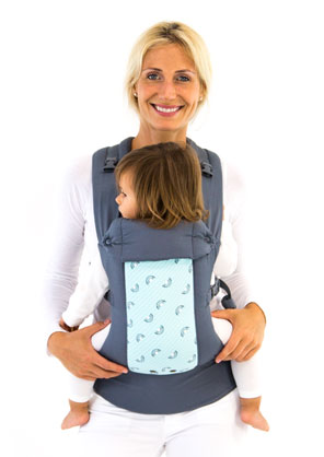 Beco Gemini Baby Carrier In Levi Greyfree Shipping