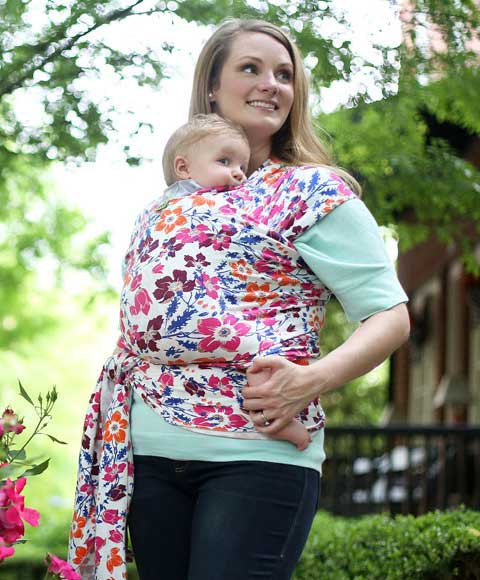 Boba Wrap Classic In Wildflower Free Shipping Bw1 020