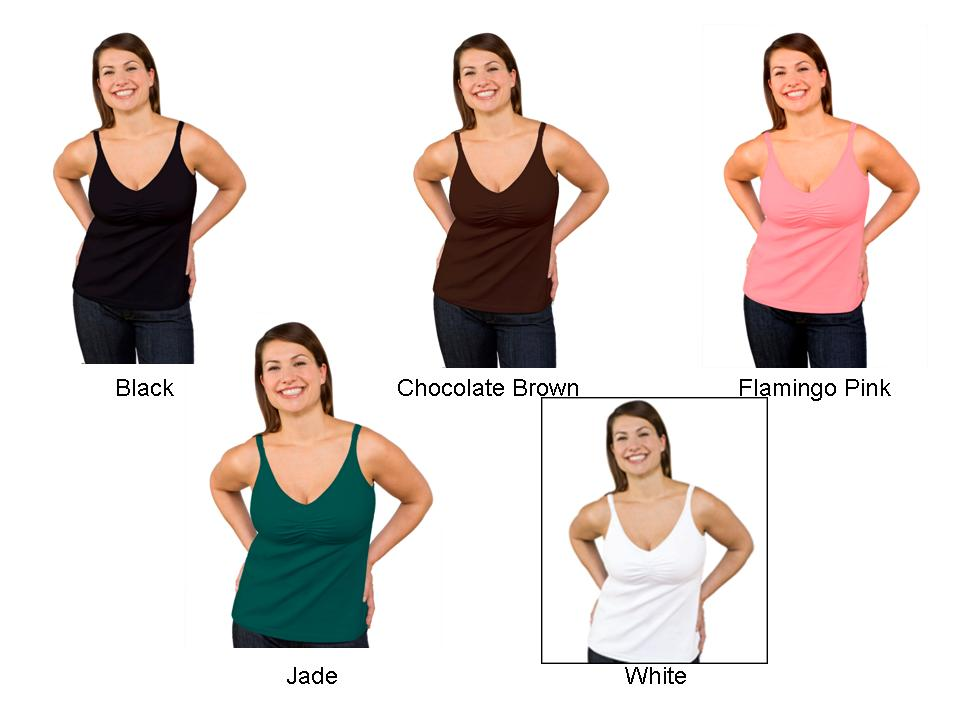 5c8ad2da6023e Bravado Essential Nursing Tank|Free Shipping|top with built-in ...