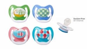 Dr. Brown&#39s PreVent Pacifier, 12 months+, 2 Pack