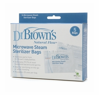 Dr Brown S Microwave Steam Sterilizer Bags