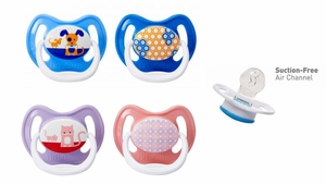 Dr. Brown&#39s Prevent Pacifier Stage 2, 6-12 months, 2 Pack