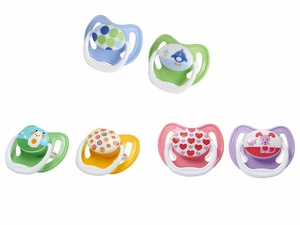 Dr. Brown's PreVent Pacifier, 0-6 months, 2 Pack