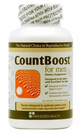 Fairhaven Health CountBoost for Men, 60 Capsules