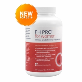 Fairhaven Health FH Pro Women Clinical Grade Fertility Supplement