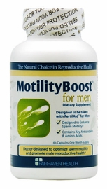 Fairhaven Health MotilityBoost for Men, 60 Capsules