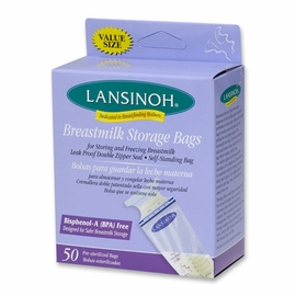 Lansinoh Breastmilk Freezer Storage Bags 50 Count