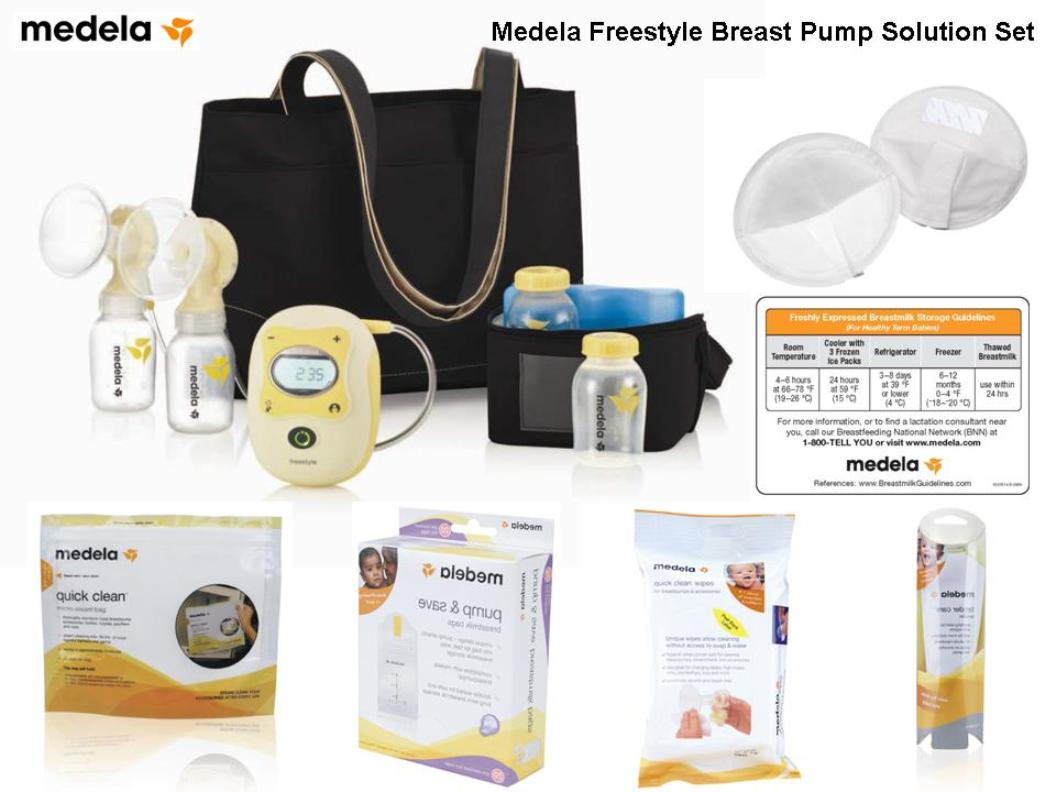 Medela Freestyle Hands Free Breast Pump Solution Set 67060bn Cooler Bag Shipping On This Item To The 48 Contiguous States Fsa Or Hsa Reimbursement Is Eligible See A List Of Some Breastfeeding Items