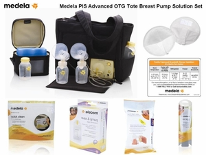 Medela Pump In Style Advanced On-The-Go Tote Breast Pump Solution Set