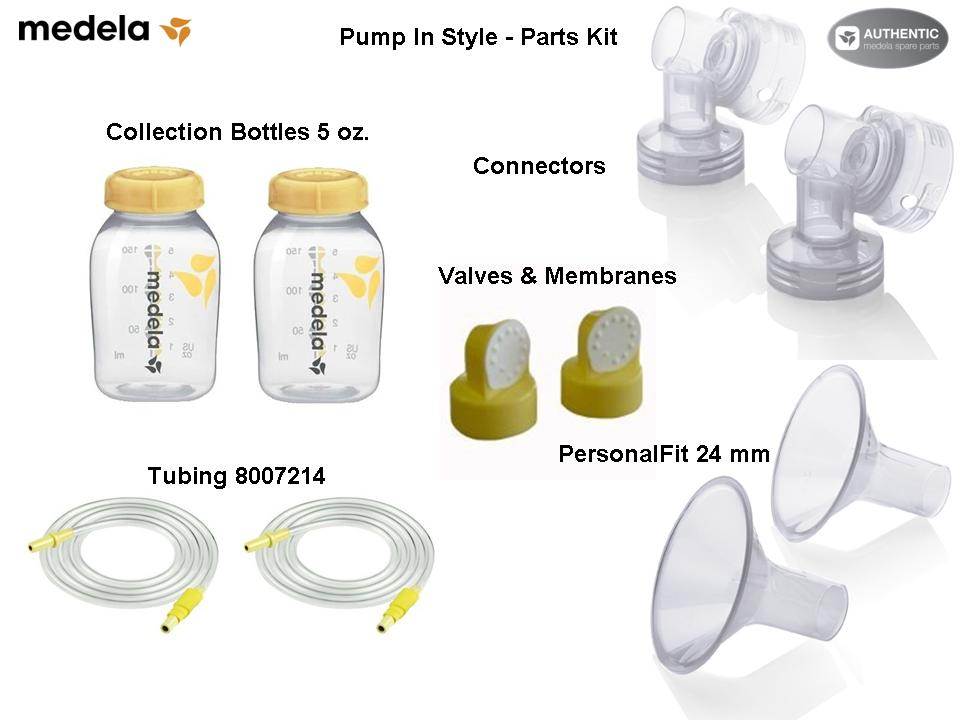 Medela Breast Pump In Style Advanced Parts Kit Pump In Style