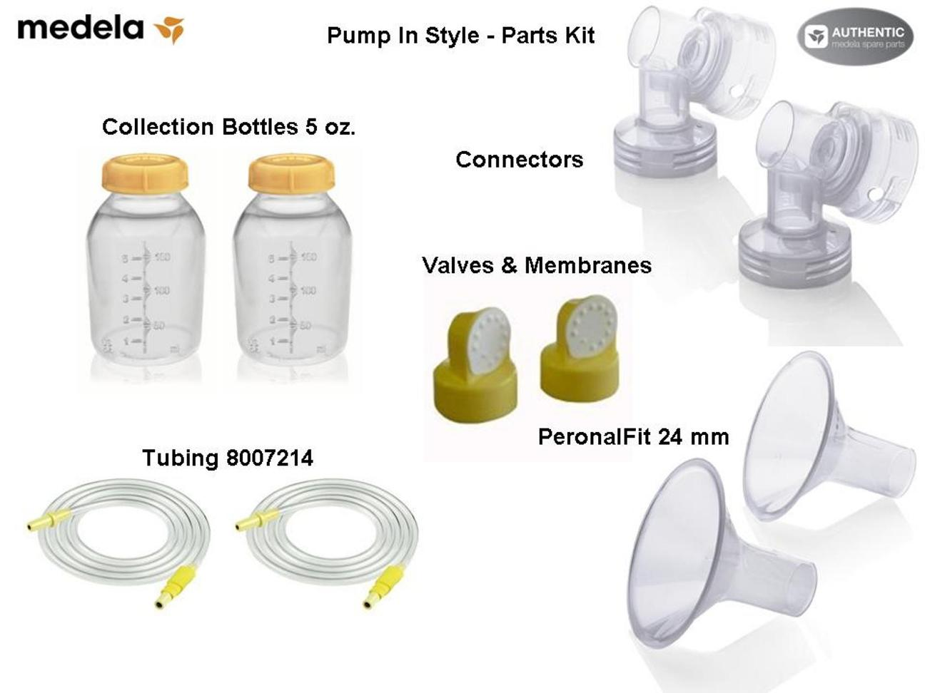 Medella breast pump accessories