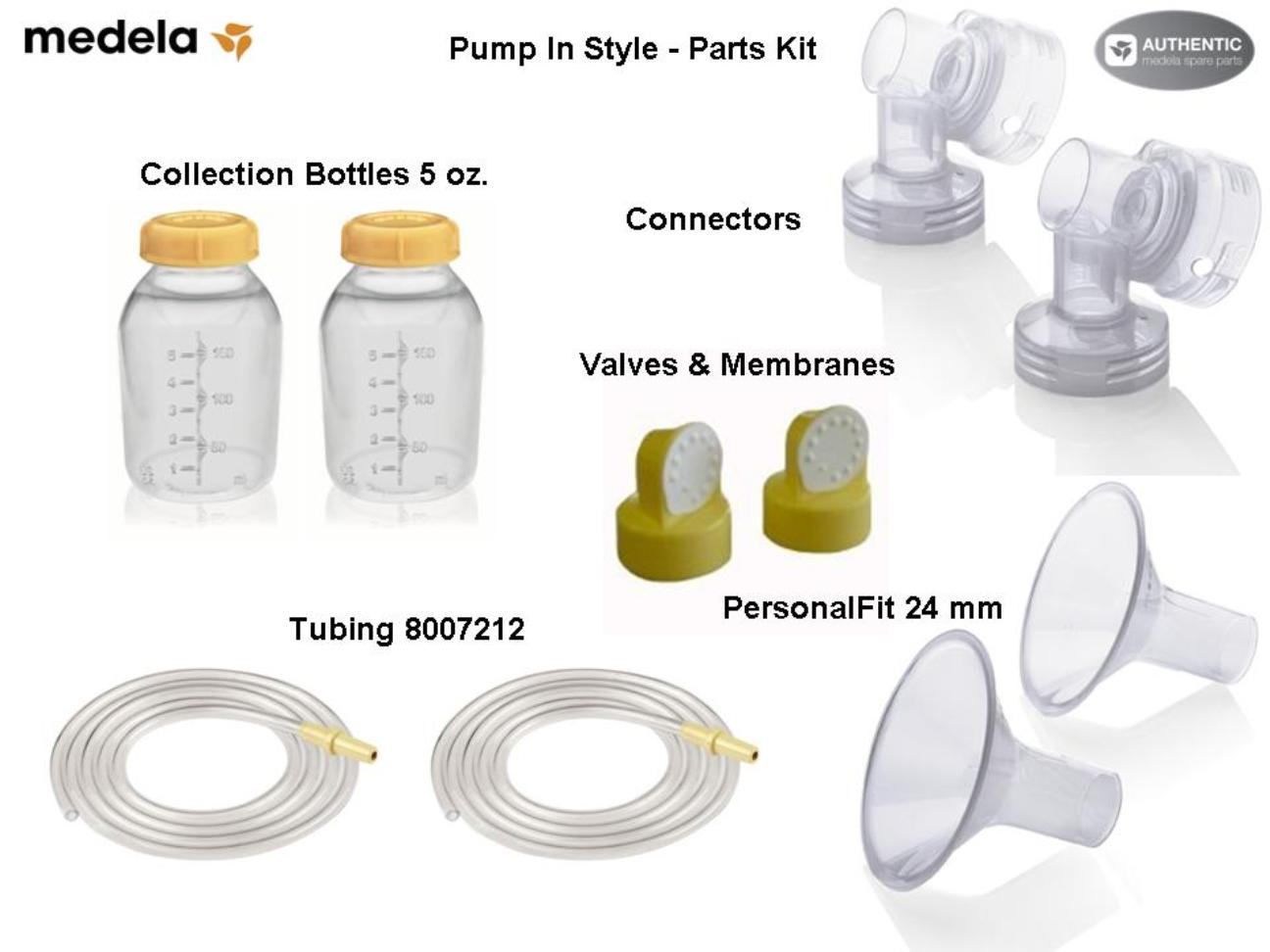 medela breast pump parts kit pump in style free shipping rh momandbabyshop com Medela Pump Attachments Medela Harmony Pump