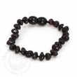 Momma Goose Amber Teething Bracelet, Cherry