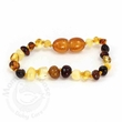 Momma Goose Amber Teething Bracelet, Multi