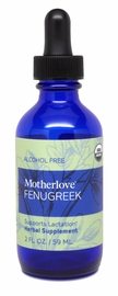 Motherlove Fenugreek Liquid Alcohol Free, 2 oz.