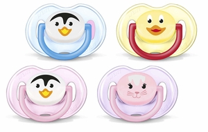 Philips Avent Animal Infant Pacifier, 0 - 6 Months, 2 Pack