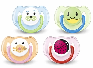 Philips Avent Animal Toddler Pacifier, 6 - 18 Months, 2 Pack