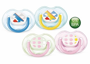 Philips Avent Fashion Infant Pacifier, 0 - 6 Months