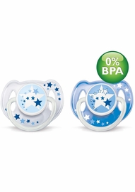 Philips Avent Nighttime Toddler Pacifier, 6 - 18 Months, 2 Pack