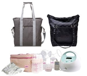 Spectra S1 Plus Double Electric Breast Pump w/ Tote and Cooler