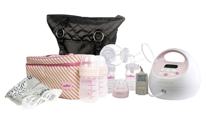 Spectra S2 Plus Double Electric Breast Pump With Tote And