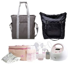 Spectra S2 Plus Double Electric Breast Pump w/ Tote and Cooler