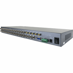 16-Channel BNC Video Multiplexer Picture-In-Picture Video Processor