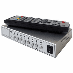 2-Channel Picture-In-Picture RCA Video Processor Mixer With IR remote