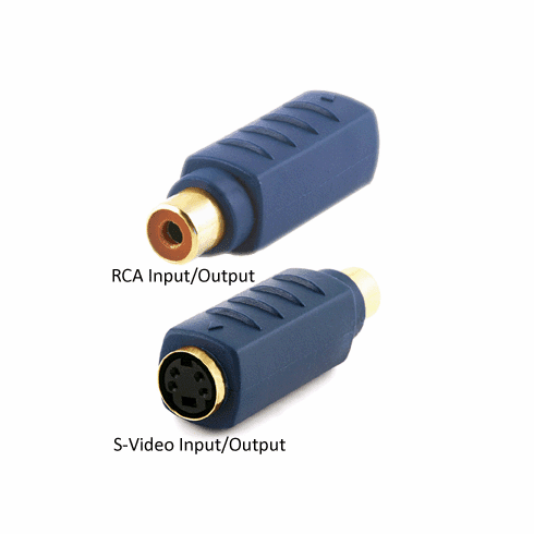 2-Way Composite RCA Video S-Video Format Converter
