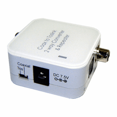 2-Way Digital Audio Converter~ Optical Toslink + Coax