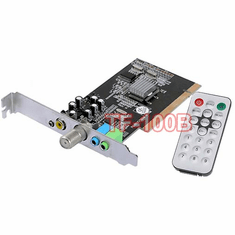 3-In-1 Universal TV Tuner + FM Tuner + DVR Video Capture Card