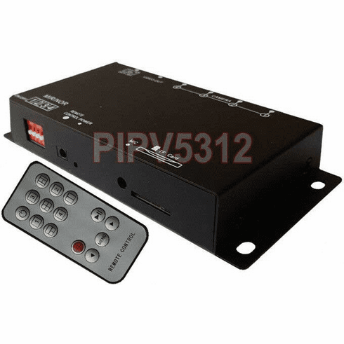 4-Channel Mini DVR Quad Video Processor With IR Remote