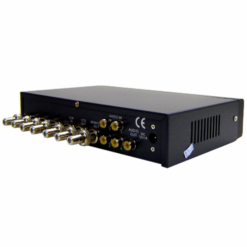 4-Channel Quad Video Picture-In-Picture Video Processor - RCA Connectors