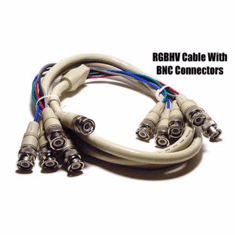 5 BNC to 5BNC RGBHV Video Cable - 6ft
