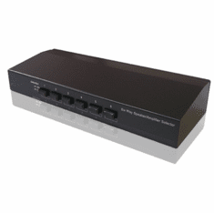6-Port Speaker Selector Amplifier Switch Selector