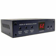 All-Channel Composite BNC RCA A/V To RF Coax Modulator (CH2 To CH138)