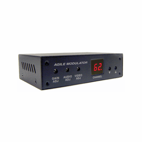 All-Channel Composite Video Audio To RF Coax Modulator (CH2 To CH138)