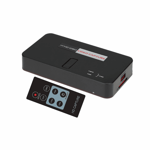 All-In-1 HD SD Video Recorder With HDMI  Component Video RCA AV Inputs