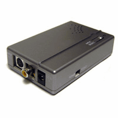Composite S-Video to Component Video RGB Sync On Green Converter